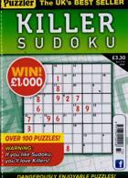 Puzzler Killer Sudoku Magazine Issue NO 173