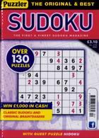 Puzzler Sudoku Magazine Issue NO 204