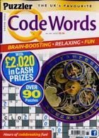 Puzzler Q Code Words Magazine Issue NO 461