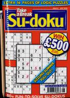 Take A Break Sudoku Magazine Issue NO 8
