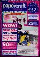Papercraft Essentials Magazine Issue NO 189