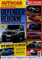 Autocar Magazine Issue 01/07/2020