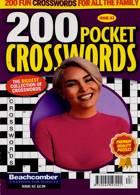 200 Pocket Crosswords Magazine Issue NO 63