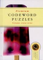 Premium Codeword Puzzles Magazine Issue NO 69