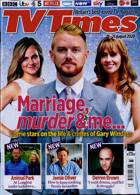 Tv Times England Magazine Issue 15/08/2020