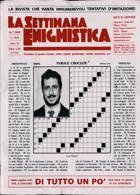 La Settimana Enigmistica Magazine Issue NO 4608