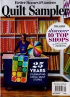 Bhg Quilt Sampler Magazine Issue TOPSHP