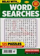 Relax With Wordsearches Magazine Issue NO 10