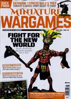 Miniature Wargames Magazine Issue AUG 20