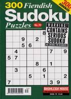 300 Fiendish Sudoku Puzzle Magazine Issue NO 70
