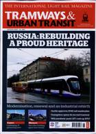 Tramways And Urban Transit Magazine Issue AUG 20