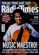 Radio Times London Edition Magazine Issue 11/07/2020