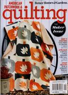 American Patchwork Quilting Magazine Issue OCT 20