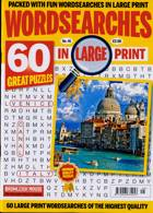Wordsearches In Large Print Magazine Issue NO 45