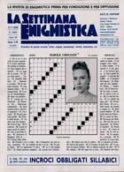 La Settimana Enigmistica Magazine Issue NO 4609