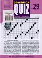 Domenica Quiz Magazine Issue NO 29