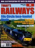 Todays Railways Uk Magazine Issue AUG 20