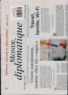 Le Monde Diplomatique Magazine Issue NO 795