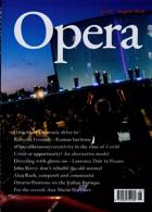 Opera Magazine Issue AUG 20
