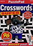 Puzzlelife Crossword Super Magazine Issue NO 28