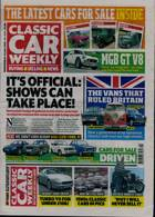 Classic Car Weekly Magazine Issue 15/07/2020