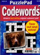 Puzzlelife Ppad Codewords Magazine Issue NO 48