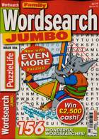 Family Wordsearch Jumbo Magazine Issue NO 306