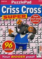 Puzzlelife Criss Cross Super Magazine Issue NO 28