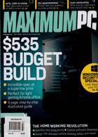 Maximum Pc Magazine Issue JUL 20
