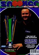 Snooker Scene Magazine Issue AUG 20