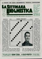 La Settimana Enigmistica Magazine Issue NO 4610