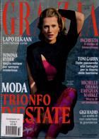 Grazia Italian Wkly Magazine Issue NO 31-32