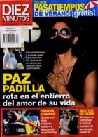Diez Minutos Magazine Issue NO 3597