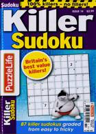 Puzzlelife Killer Sudoku Magazine Issue NO 14