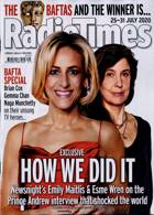 Radio Times London Edition Magazine Issue 25/07/2020