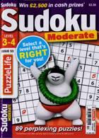 Puzzlelife Sudoku L 3 4 Magazine Issue NO 53