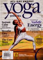 Yoga Journal Magazine Issue JUL-AUG