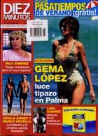 Diez Minutos Magazine Issue NO 3598