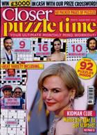 Closer Puzzle Time Magazine Issue NO 15