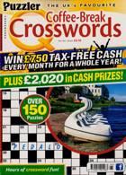 Puzzler Q Coffee Break Crossw Magazine Issue NO 95