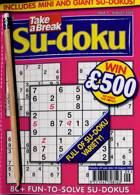 Take A Break Sudoku Magazine Issue NO 9
