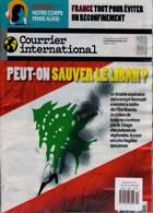 Courrier International Magazine Issue NO 1554
