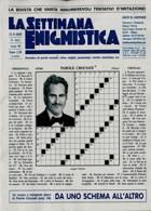 La Settimana Enigmistica Magazine Issue NO 4612