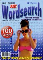 Just Wordsearch Magazine Issue NO 327