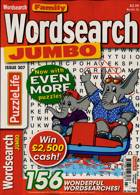 Family Wordsearch Jumbo Magazine Issue NO 307