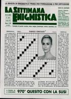 La Settimana Enigmistica Magazine Issue NO 4613