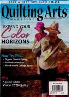 Quilting Arts Magazine Issue AUG-SEP