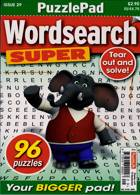 Puzzlelife Wordsearch Super Magazine Issue NO 29