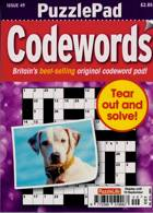 Puzzlelife Ppad Codewords Magazine Issue NO 49