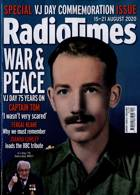 Radio Times London Edition Magazine Issue 15/08/2020